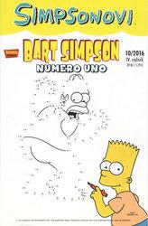 Simpsonovi - Bart Simpson 10/2016 - Numero uno