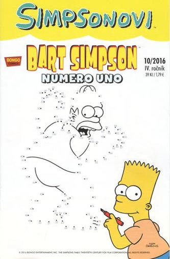 Simpsonovi - Bart Simpson 10/2016 - Numero uno - Matt Groening