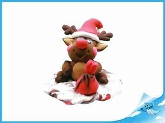 Paulinda Merry Christmas sob s doplňky v kelímku