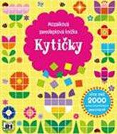 Kytičky - Mozaiková samolepková knížka