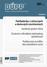 Daňový a účtovný poradca podnikateľa 15/2016