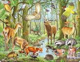 Puzzle MAXI - Evropský les/40 dílků