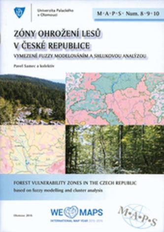 Zóny ohrožení lesů České republiky M.A.P.S. 8, 9, 10 soubor