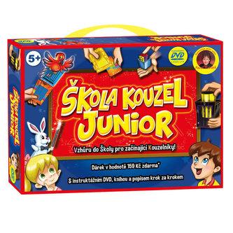 Škola kouzel Junior (začátečníci) + 16 kouzel, DVD - neuveden