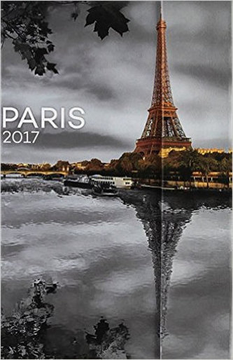Diář 2017 - Paříž - týdenní (GB, DE, FR, IT, ES, NL)