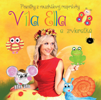 Víla Ella a zvieratká - CD