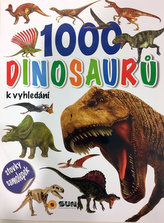 1000 dinosaurů se samolepkami