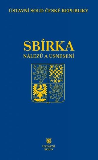 Sbírka nálezů a usnesení ÚS ČR, svazek 77 (vč. CD)