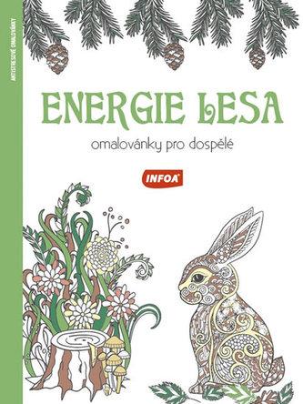 Energie lesa - Omalovánky pro dospělé