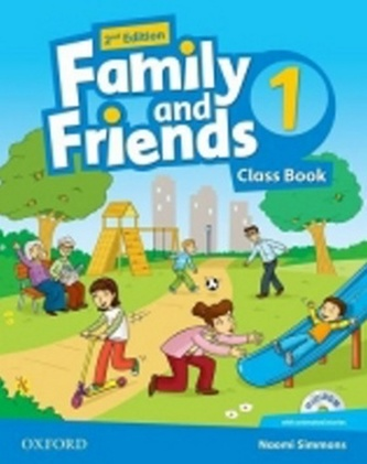 Family and Friends 2nd Edition 1 Course Book with MultiROM Pack