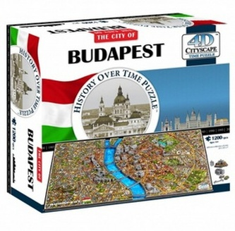 4D City Puzzle Budapest
