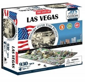 4D City Puzzle Las Vegas