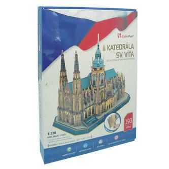 3D Puzzle Katedrála Sv. Víta -193 dílků