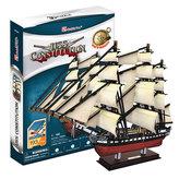 Puzzle 3D USS Constitution