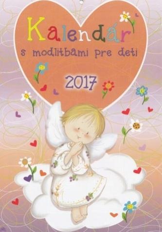 Kalendár s modlitbami pre deti 2017 ( nástenný )