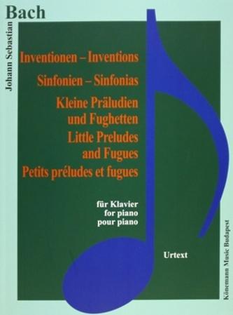 Inventionen, Sinfonien