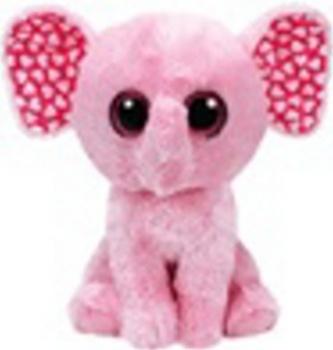 Plyš očka velká růžový slon