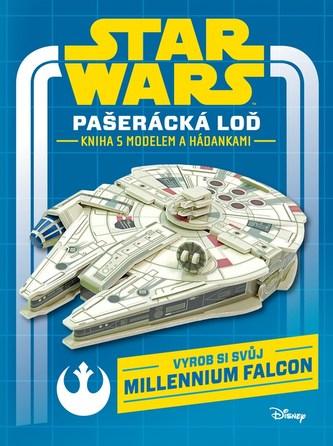 Star Wars - Pašerácká loď - kniha s modelem a hádankami - Disney Walt