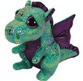 Plyš očka velká zelený drak