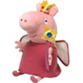 Plyš Beanie Babies Lic PEPPA PIG - Princess Peppa