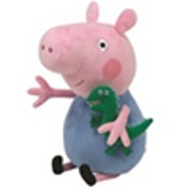 Plyš Beanie Babies Lic Peppa Pig - George