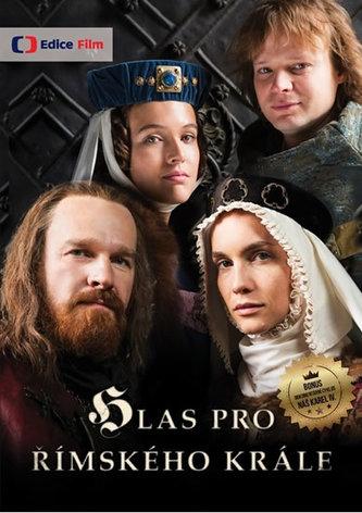 Hlas pro římského krále + bonus Náš Karel - 3 DVD