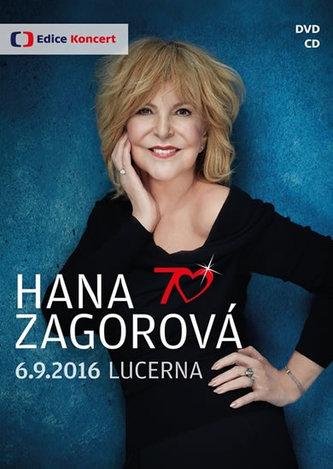 Hana Zagorová 70 - DVD+CD - neuveden
