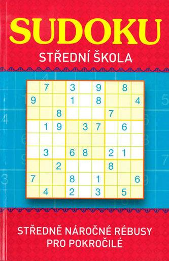 Sudoku - Střední škola (červená) - neuveden