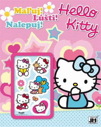Maľuj Lúšti Nalepuj! Hello Kitty