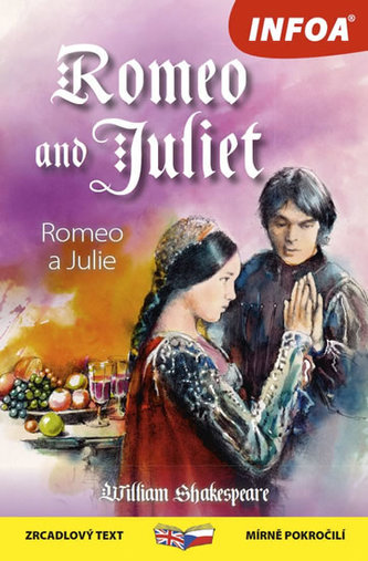 Romeo a Julie / Romeo and Juliet - Zrcadlová četba - William Shakespeare