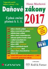Daňové zákony 2017 - Úplná znění platná k 1. 1. 2017