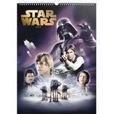 Kalendář nástěnný 2017 - Star Wars/Plakáty