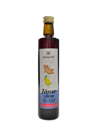 Sonnentor - Zázvor -Citron - ovocný koncentrát BIO 500ml