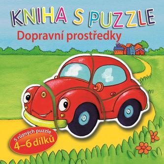 Dopravní prostředky - Kniha s puzzle - neuveden
