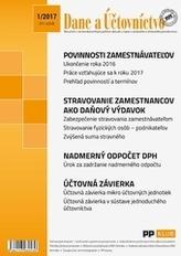 Dane a účtovníctvo 1-2017
