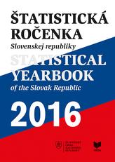 Štatistická ročenka Slovenskej republiky 2016 + CD