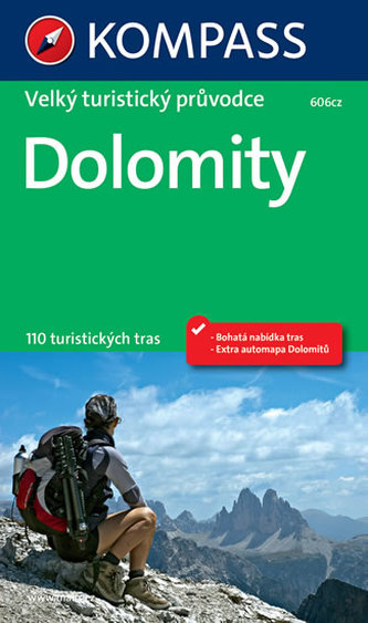 Dolomity - velký tur. průvodce NKOM - neuveden