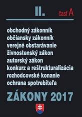 Zákony 2017 II. časť A