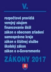 Zákony 2017 V.