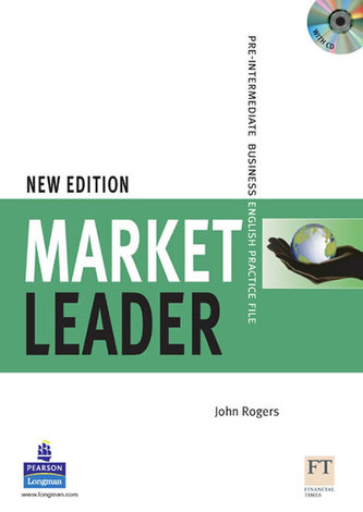 Market Leader Pre-Intermediate Practice File with Audio CD Pack New Edition - Rogers John