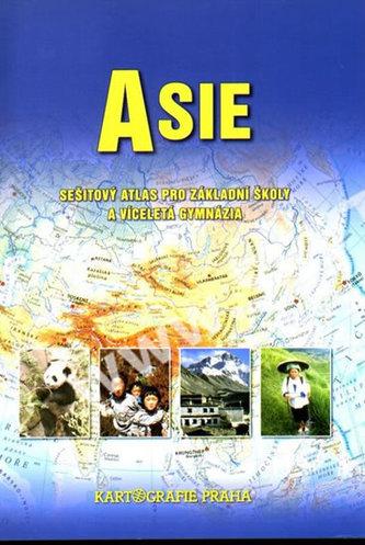 Školní atlas/Asie, 2.vydání - neuveden