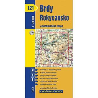 1: 70T(121)-Brdy, Rokycansko (cyklomapa) - neuveden