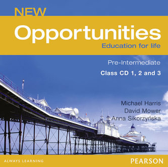CD NEW OPPORTUNITIES PRE-INTERMEDIATE