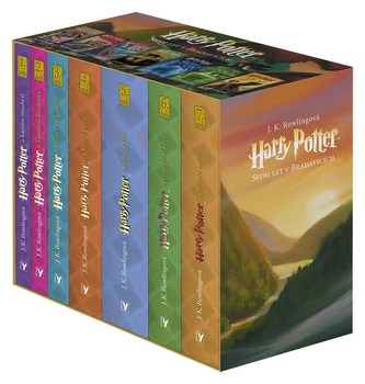 Harry Potter box 1-7 - J. K. Rowlingová