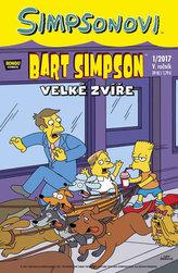 Simpsonovi - Bart Simpson 1/2017 - Velké zvíře