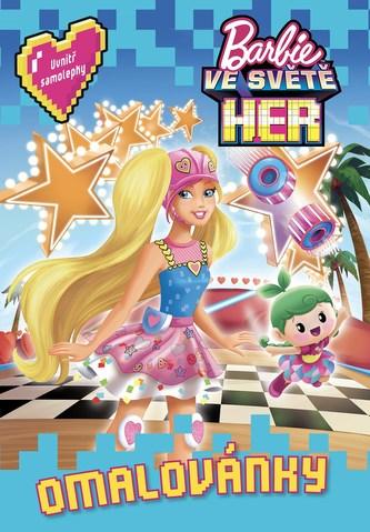 Barbie ve světě her Omalovánky - Linda Perina