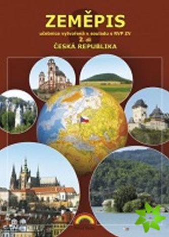Zeměpis 8, 2. díl - Česká republika (učebnice) - neuveden
