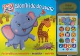 Sloník ide do sveta- zvuková knižka