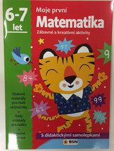Moje první matematika 6-7 let - s didaktickými samolepkami