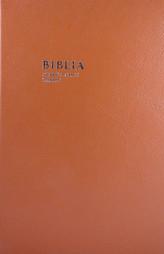 Biblia (veľký formát v koži, so zlatorezom)